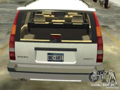 Volvo 850 R 1996 Rims 2 para GTA 4 traseira esquerda vista