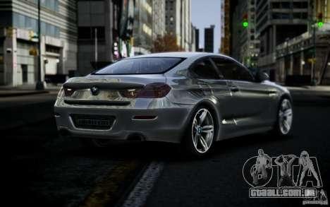 BMW 640i F12 para GTA 4 esquerda vista