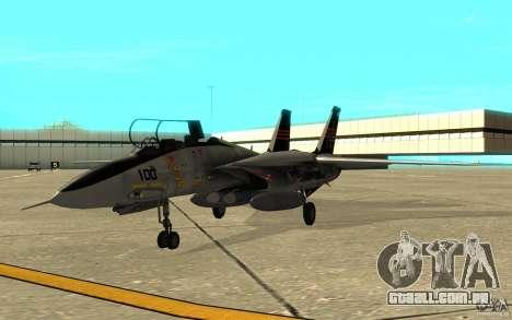 F-14A Screaming Eagles VF-51 para GTA San Andreas esquerda vista