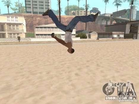 Parkour 40 mod para GTA San Andreas quinto tela