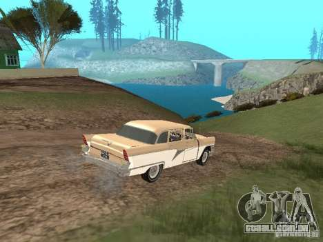 GÁS 13 para GTA San Andreas vista superior
