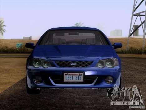 Ford Falcon para GTA San Andreas vista direita