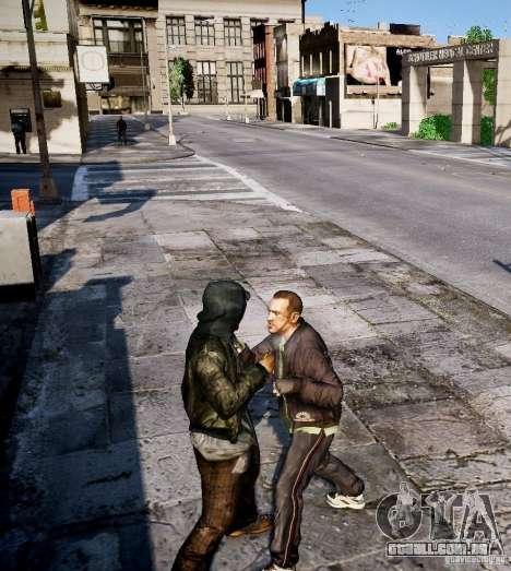 Bad Niko para GTA 4 quinto tela