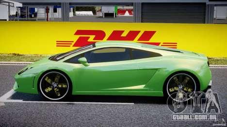 Lamborghini Gallardo LP560-4 DUB STYLE para GTA 4 esquerda vista