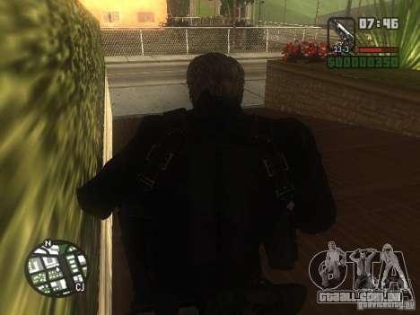 Wesker de RE5 para GTA San Andreas segunda tela