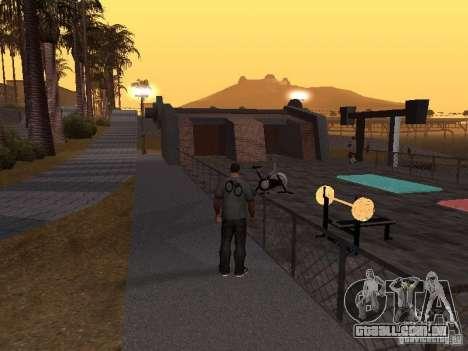 HD Santa Maria Beach para GTA San Andreas por diante tela