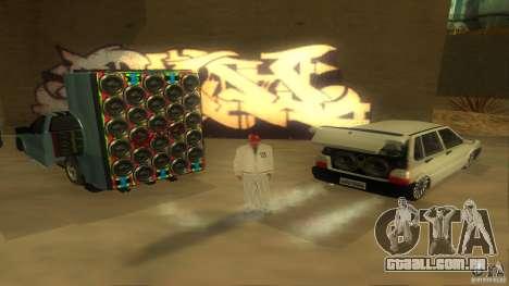 BrakeDance mod para GTA San Andreas