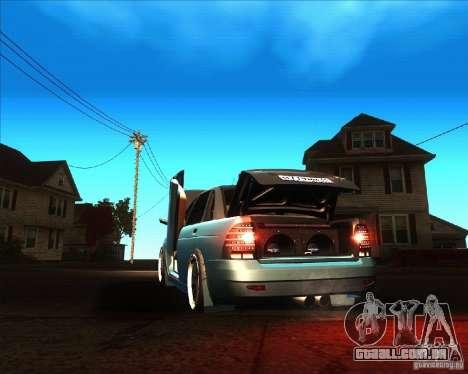LADA 2170 Lambo para GTA San Andreas traseira esquerda vista