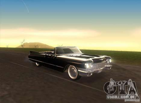 Cadillac Series 62 1960 para GTA San Andreas vista interior