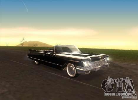Cadillac Series 62 1960 para GTA San Andreas vista interior