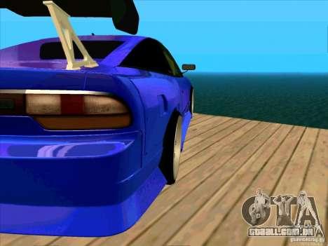 Nissan 240SX Drift Team para GTA San Andreas esquerda vista