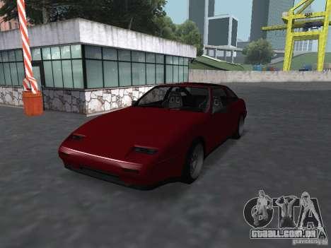 Nissan 300ZX para GTA San Andreas esquerda vista