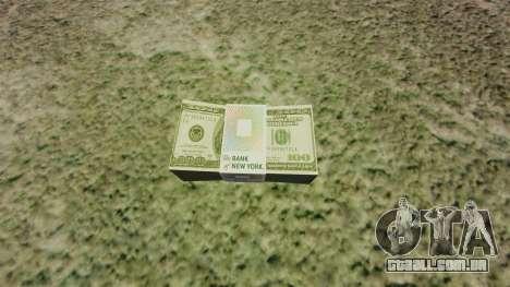 Notas dos Estados Unidos nas notas de $ 100 para GTA 4