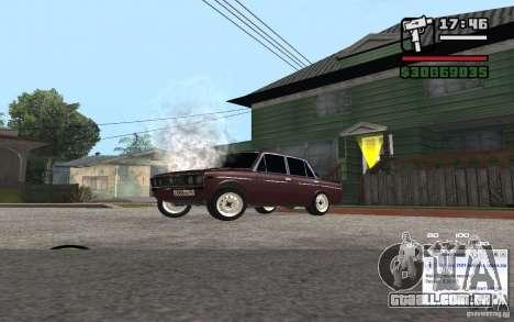 CAMZum beta disponível a partir do GTA 5 para GTA San Andreas por diante tela