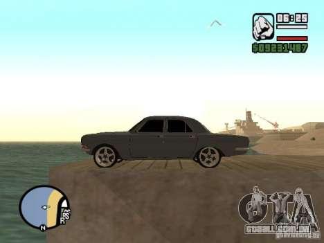 Gaz 2410 Tuning para GTA San Andreas vista direita