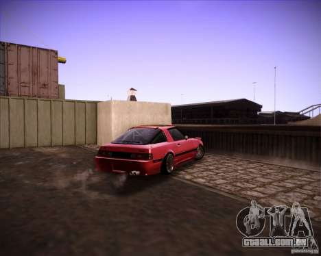 Mazda RX7 FBS3 para GTA San Andreas vista direita