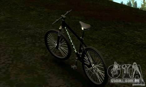 Bicicleta com Monster Energy para GTA San Andreas esquerda vista