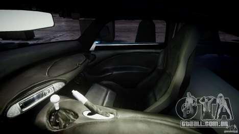TVR Sagaris para GTA 4 vista de volta