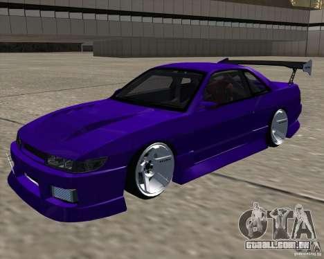 Nissan Silvia S13 Nismo tuned para GTA San Andreas