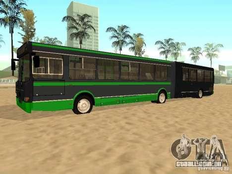LIAZ 6212 para GTA San Andreas vista traseira