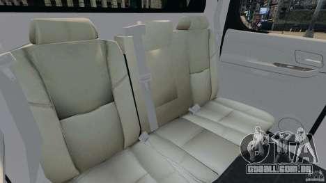 Chevrolet Avalanche 2007 [ELS] para GTA 4 vista lateral