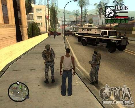 POLÍCIA russa para GTA San Andreas