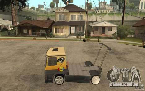 Mercedes Benz Actros Dragster para GTA San Andreas esquerda vista