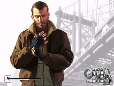 Tela de boot GTA 4 para GTA San Andreas sétima tela
