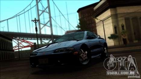 Mitsubishi Eclipse GSX 1999 para GTA San Andreas