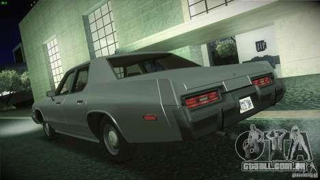 Dodge Monaco para GTA San Andreas esquerda vista