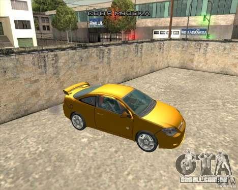 Chevrolet Cobalt SS para GTA San Andreas vista direita