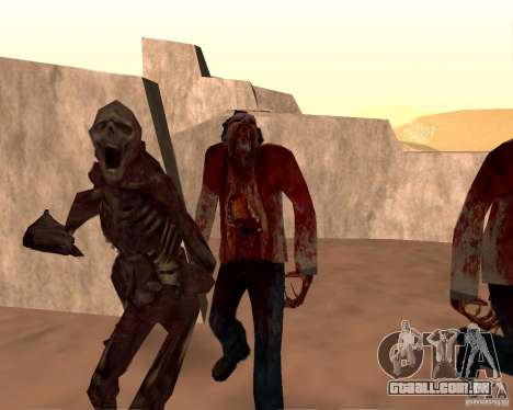 Zombie Half life 2 para GTA San Andreas décimo tela