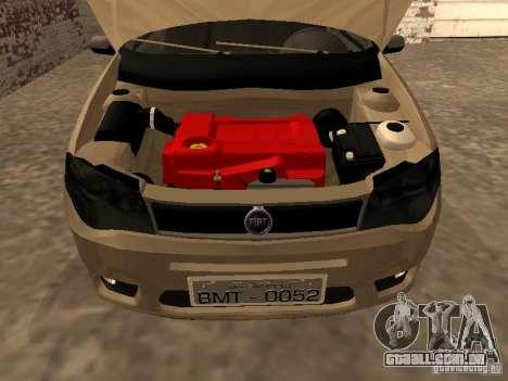 Fiat Palio 1.8R para GTA San Andreas vista direita