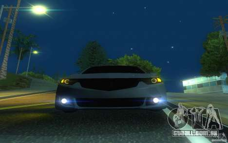 Honda Accord para GTA San Andreas vista superior