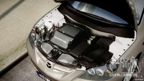 Mazda 3 2004 para GTA 4 vista de volta