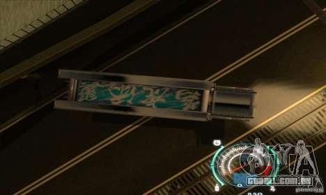 Caminhão japonês para GTA San Andreas vista traseira