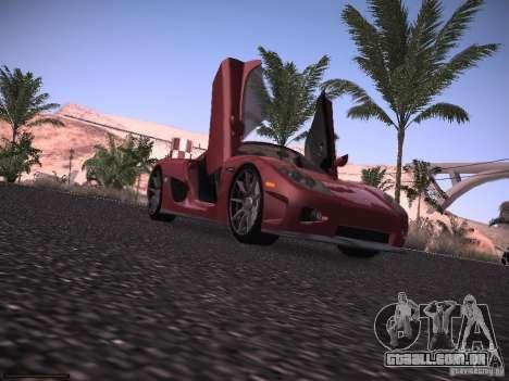 Koenigsegg CCX 2006 para GTA San Andreas vista traseira