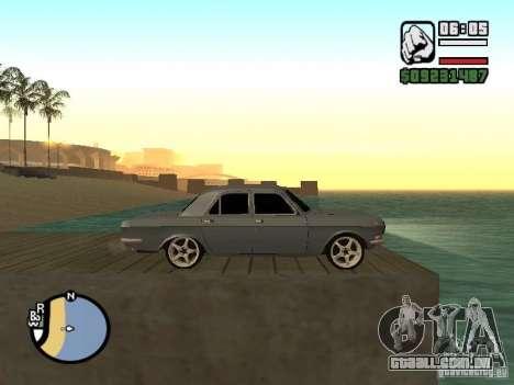 Gaz 2410 Tuning para GTA San Andreas traseira esquerda vista