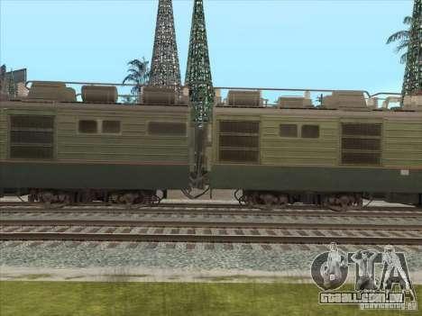 VL80k-484 para GTA San Andreas esquerda vista