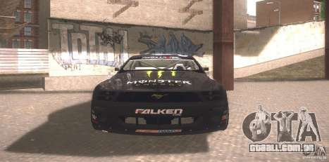 Ford Mustang Monster Energy para GTA San Andreas esquerda vista