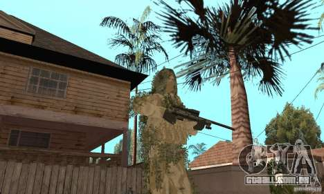 Atirador de pele para GTA San Andreas quinto tela