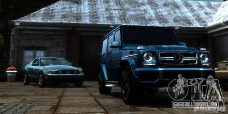 Mercedes-Benz G65 AMG [W463] 2012 para GTA 4 vista de volta
