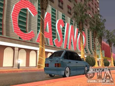 ВАЗ 2114 Casino para GTA San Andreas vista direita