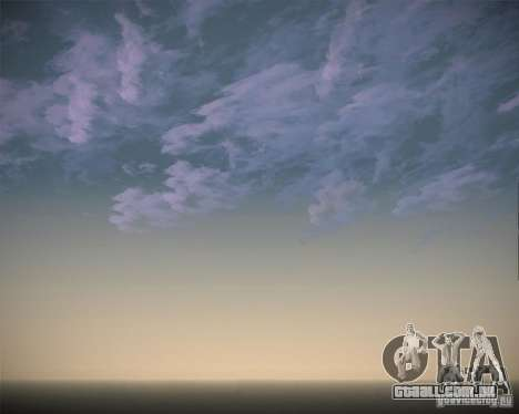 Real Clouds HD para GTA San Andreas sétima tela