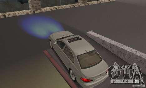 Faróis azuis para GTA San Andreas