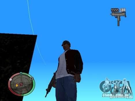 Alterar o estilo de corte e Usi para GTA San Andreas terceira tela
