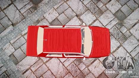 Volkswagen Jetta MKII VR6 para GTA 4 vista superior