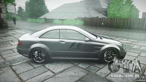 Mercedes Benz CLK63 AMG Black Series 2007 para GTA 4 vista interior