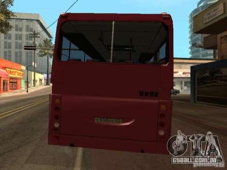 Golaz-Liaz 5256R para GTA San Andreas vista interior