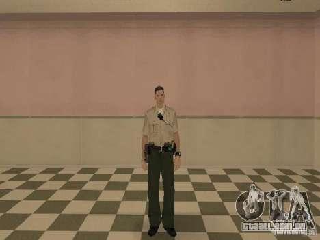 Los Angeles Police Department para GTA San Andreas sexta tela